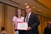 New Orleans, LA - AHA HBPR 2013 : Robin Shoemaker recieves the HBPR Research Conference New Investigator award at the HBPR Council and Kindey in Cardiovascular Disease Awards Luncheon   at the American Heart Association High Blood Pressure Research (HBPR) Meeting here today, Friday September 13, 2013.  Physicians, researchers and healthcare professionals gathered at the meeting which is being held at the New Orleans Marriott to improve understanding of mechanisms of high blood pressure. Photo by © AHA/Todd Buchanan 2013 Technical Questions: todd@medmeetingiamges.com