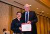New Orleans, LA - AHA HBPR 2013 : Aurelie Nguyen Dinh Cat recieves the HBPR Research Conference New Investigator award at the HBPR Council and Kindey in Cardiovascular Disease Awards Luncheon   at the American Heart Association High Blood Pressure Research (HBPR) Meeting here today, Friday September 13, 2013.  Physicians, researchers and healthcare professionals gathered at the meeting which is being held at the New Orleans Marriott to improve understanding of mechanisms of high blood pressure. Photo by © AHA/Todd Buchanan 2013 Technical Questions: todd@medmeetingiamges.com