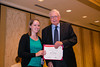 New Orleans, LA - AHA HBPR 2013 : Nicole Littlejohn recieves the HBPR Research Conference New Investigator award at the HBPR Council and Kindey in Cardiovascular Disease Awards Luncheon   at the American Heart Association High Blood Pressure Research (HBPR) Meeting here today, Friday September 13, 2013.  Physicians, researchers and healthcare professionals gathered at the meeting which is being held at the New Orleans Marriott to improve understanding of mechanisms of high blood pressure. Photo by © AHA/Todd Buchanan 2013 Technical Questions: todd@medmeetingiamges.com