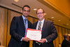New Orleans, LA - AHA HBPR 2013 : Mahmoud Alghamri recieves the HBPR Research Conference New Investigator award at the HBPR Council and Kindey in Cardiovascular Disease Awards Luncheon   at the American Heart Association High Blood Pressure Research (HBPR) Meeting here today, Friday September 13, 2013.  Physicians, researchers and healthcare professionals gathered at the meeting which is being held at the New Orleans Marriott to improve understanding of mechanisms of high blood pressure. Photo by © AHA/Todd Buchanan 2013 Technical Questions: todd@medmeetingiamges.com