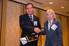 New Orleans, LA - AHA HBPR 2013 : Gang Hu recieves the Top Papers Published in Hypertension - Clinical Science Category award at the HBPR Council and Kindey in Cardiovascular Disease Awards Luncheon   at the American Heart Association High Blood Pressure Research (HBPR) Meeting here today, Friday September 13, 2013.  Physicians, researchers and healthcare professionals gathered at the meeting which is being held at the New Orleans Marriott to improve understanding of mechanisms of high blood pressure. Photo by © AHA/Todd Buchanan 2013 Technical Questions: todd@medmeetingiamges.com