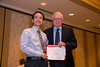 New Orleans, LA - AHA HBPR 2013 : Kenjiro Muta recieves the HBPR Research Conference New Investigator award at the HBPR Council and Kindey in Cardiovascular Disease Awards Luncheon   at the American Heart Association High Blood Pressure Research (HBPR) Meeting here today, Friday September 13, 2013.  Physicians, researchers and healthcare professionals gathered at the meeting which is being held at the New Orleans Marriott to improve understanding of mechanisms of high blood pressure. Photo by © AHA/Todd Buchanan 2013 Technical Questions: todd@medmeetingiamges.com